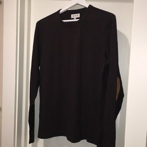 S.C.P. Longsleeve shirt with elbow patches